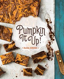 Pumpkin It Up cookbook designed by Sowins Design for Gibbs Smith.