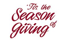Here are a few ideas of how you can make this a season of giving and compassion for those in need. #seasonofgiving #holidayspirit #givingback