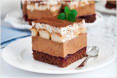 Ciasto marcello - I Love Bake German Desserts, Cheesecakes, Tiramisu, Sweets, Baking, Ethnic Recipes, Polish, Vitreous Enamel, Gummi Candy