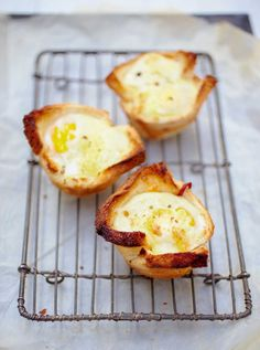 Croque Madame Muffins Recipe   Rachel Khoo (A nifty little ooh- and aah-inducing riff on the classic croque madame that's perfect to assemble ahead of time for big batch brunches.)