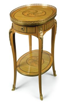 A LOUIS XV/XVI TRANSITIONAL ORMOLU-MOUNTED CITRONNIER, STAINED SYCAMORE AND MARQUETRY TABLE EN CHIFFONNIÈRE CIRCA 1770, STAMPED RVLC JME Roger Vandercruse dit Lacroix (1727-1799), maître in 1755
