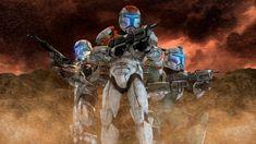 Republic Commando - Poster Remake #1 [SFM/4K] by Archangel470
