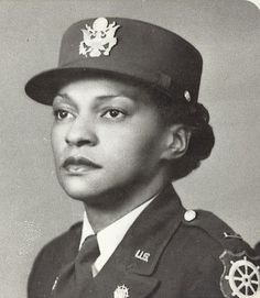 Charity Edna Adams Earley(12/05/1918; Columbia, SC  –01/13/2002; Dayton, OH) was the first African-American woman to be an officer in theWomen's Army Auxiliary Corps(later WACS) and was the commanding officer of the 1st battalion of African-American women to serve overseas duringWorld War II. Adams was the highest ranking African-American woman in the army by the completion of the war.