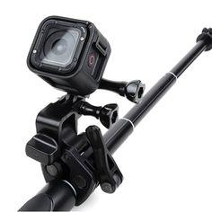 [$8.03] TMC Sportman Mount for GoPro HERO4 Session /4 /3+ /3 /2 /1, Xiaomi Yi Sport Camera(Black)