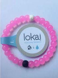 A Lokai Bracelet in Pink