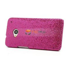 The HTC One M7hard case is full of bling bling sequins on the surface, very attractive and shiny, will draw lots of attention Adds a touch of personality to your device and keeps it well protected with this high quality hard case