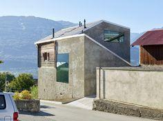 Reynard/Rossi-Udry House, Ormône,  Switzerland / Savioz Fabrizzi Architectes