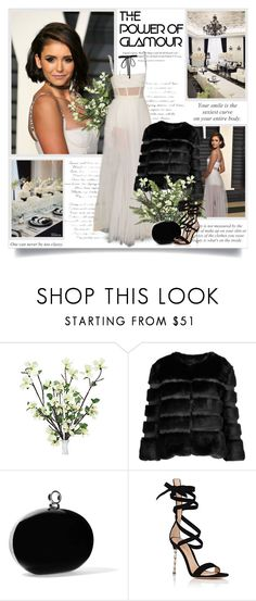 """""""Your smile is the sexiest curve on your body!!"""" by lilly-2711 ❤ liked on Polyvore featuring AINEA, Halston Heritage, Gianvito Rossi and Joomi Lim"""