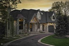 Front Façade Design Studio, Luxury Homes, Facade, Exterior, Mansions, Architecture, House Styles, Photography, Home Decor