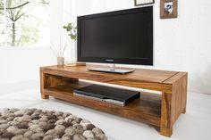 Massives Design Tv-board Madeira Sheesham Co Tv Board Holz, Tv Diy, Tv Unit Online, Modern Tv Units, Rack Tv, Muebles Living, Solid Wood Furniture, Tv Cabinets, Living Room Decor