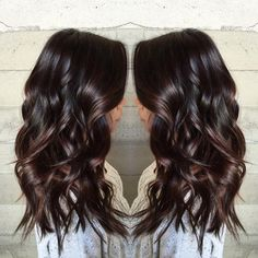 50 Astonishing Chocolate Brown Hair Ideas for 2020 – Hair Adviser 50 Chocolate Brown Hair Color Ideas for This Year Dark Chocolate Brown Hair, Coffee Brown Hair, Golden Brown Hair, Light Brown Hair, Dark Hair, Ash Brown, Dark Brown To Light Brown Ombre, Chocolate Brown Hair With Highlights, Coffee Hair Color