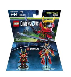 Lego Dimensions Fun Pack: Nya (Nya and Samurai Mech included)