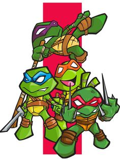 TURTLE POWER!!!!! by *bunleungart on deviantART teenage mutant ninja turtles tmnt bun leung art