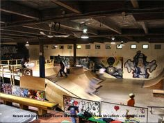 Indoor Skate Park Nelson and district youth centre <b>skate park</b>, nelson, b c <b></b>