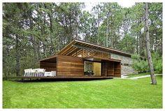 fachada de casas de campo modernas
