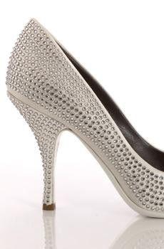 wedding shoe bling