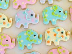 Elephant cookies!