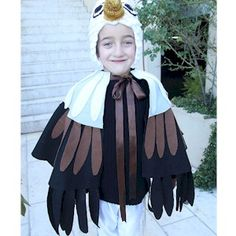 You can Make An Eagle Costume with the kids to wear for Purim, Halloween or Save the Eagles Day. Great Family project.