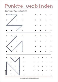 Transfer pattern – promoting eye hand coordination - New Site Kindergarten Math, Preschool, Drawing For Kids, Sentences, Worksheets, Activities For Kids, Life, Delaware, Early Education