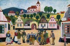 Billedresultat for josef lada European Countries, Illustration Art, Illustrations, Czech Republic, Folk Art, Fairy Tales, The Past, Clip Art, History