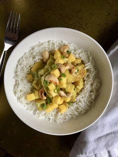Cashew Mango Curry