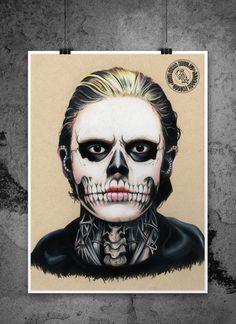 American Horror Story: Tate Langdon Illustrated by adbettleyart