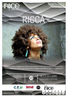 31Canciones presenta a Ricca en Sala Nice (Ciudad Real)