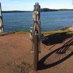 "This is amazing! I love skinny bikes. elkcunk001: ""Skinny and Tight built by Flying Choppers of Finland """
