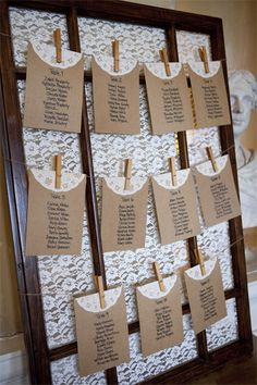 Seating arrangements display idea.Destination wedding photography by Kris McGuirk.
