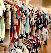 Lot 100 vêtements occasion fripe bébés enfants filles et garçons destockage