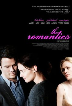 The Romantics. Watched this movie today and loved it, now I want to read the novel.