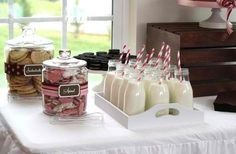 Milk and Cookies Food for kids party ideas  Classic Kids Party Ideas For The Homesteading Family
