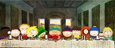 The Last Supper South Park by richardroy
