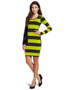 Bailey 44 Women's Mayzie The Lazy Bird Dress, Chartreuse, Medium coupon| gamesinfomation.com