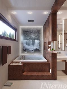 Corner Bathtub, Bathroom, Bathtubs, Home Decor, Full Bath, Washroom, Decoration Home, Bathtub, Room Decor