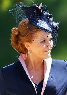 Royal Wedding hats were in full effect at the wedding of Meghan Markle and Prince Harry. Revisit the best hats worn by Oprah Winfrey, Amal Clooney, and more. Prince Harry Wedding, Harry And Meghan Wedding, Meghan Markle Wedding, Sarah Ferguson, Fergie Ferguson, Prince Harry Et Meghan, Meghan Markle Prince Harry, Prince Andrew, Prince Philip