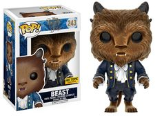Beauty and the Beast - Beast (Flocked), Hot Topic exclusive ★