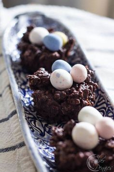 Chocolate Nests for Easter