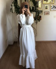 Cute Modest Outfits, Eid Outfits, Fashion Outfits, Modest Fashion Hijab, Abaya Fashion, Mode Turban, Hijab Trends, Muslim Women Fashion, Hijab Style