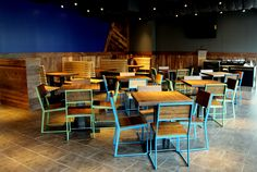 Shake Shack, Wood Slats, Wood Wall, Conference Room, Tables, Fox, Chairs, Furniture, Nice