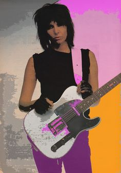 """Chrissie Hynde - Pretenders """"Oh way to go Ohio......"""" """"I saw a picture of you......""""    c.1983"""