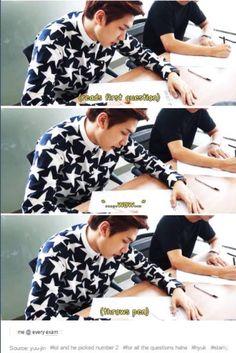 that's sooooo me. I know how you feel Hyuk! VIXX || Hyuk