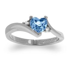 Blue Wedding Rings for Women | blue topaz ring is one of the rings that offer luxury for every woman ...