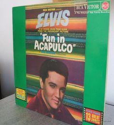 ELVIS PRESLEY - FUN IN ACAPULCO (RCA LINEATRES) / ESPAÑA, 1987