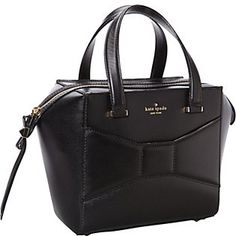 kate spade new york 2 Park Avenue Small Beau Cross Body Bag,Black,One Size