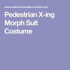 Pedestrian X-ing Morph Suit Costume  sc 1 st  Pinterest & Purple Full Body Lycra Spandex Morphsuit Zentai Suit | Morph suits ...
