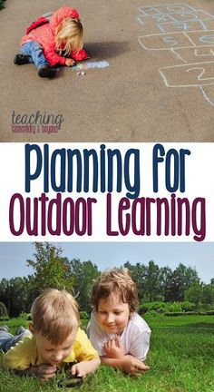 Check it out! Take a look at how we plan for outdoor learning. Organizing learning opportunities in kindergarten can be easy. We try to encorporate as many learning opportunities as we can in math, language, science and the arts!