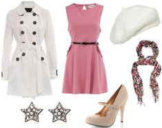 Glinda inspired.  This one is much more me.  I've been searching for a coat like that everywhere!