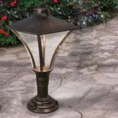 Traditional Exterior LED Pedestal Light Height: Diameter: IP Rating: Max Wattage: LED Finish: Black/copper (diecast aluminium) Traditional exterior lighting from Allen International Lighting, suppliers of traditional and contemporary exterior lighting. Contemporary Lighting, Outdoor Wall Lights, Pedestal, Light, Traditional Exterior, Led, Led Exterior Lighting, Exterior Lighting, Exterior