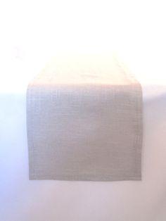 Linen Runner – Pearl Gray 11 x 117 – Ultrapom: wedding and event decor rental